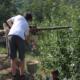 chantier participatif ardèche woofing écoconstruction