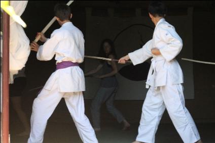 jujitsu ardèche aubenas laboule arts martiaux nature